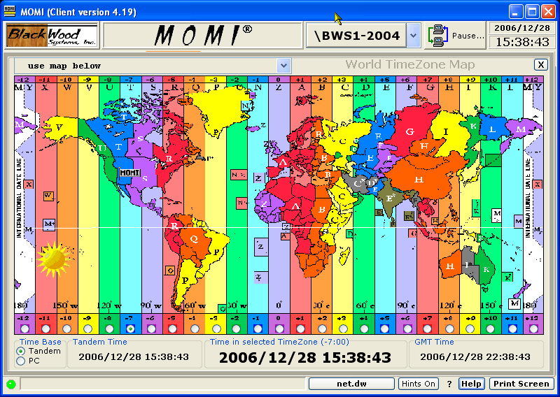 world time zone table pdf