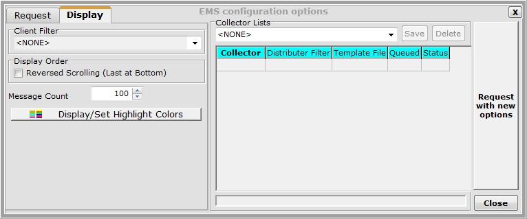 EMS Msgs